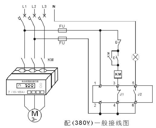 380v一般接线图