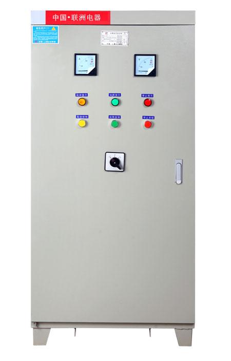 自耦降压启动柜门上的控制按钮