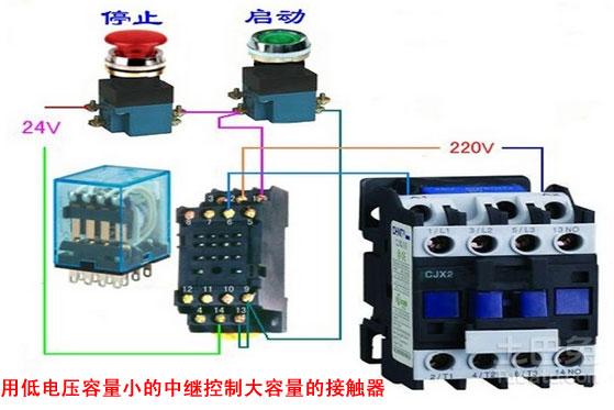 接触器接线图详细解释 接线图解大全图片